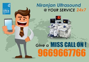 Niranjan Ultrasound India Pvt. Ltd Introduces Ultrasound Service to You with Missed Call System !!!