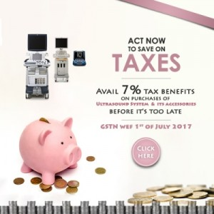 Save on Taxes upto 7% on Ultrasound Purchase before it's too late…….